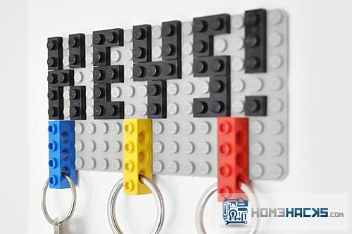 Diy Lego Keyholder Homehacks