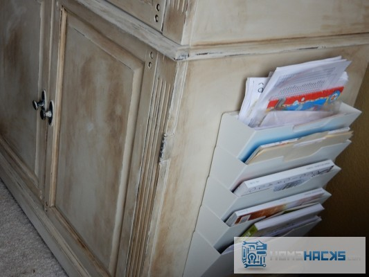 paper clutter organization