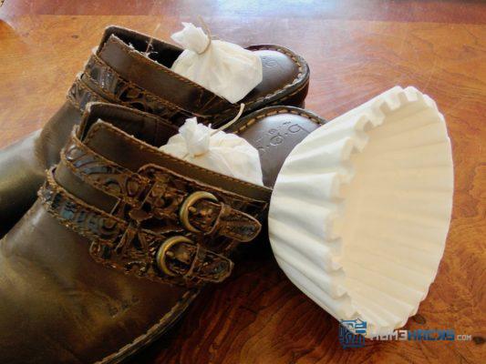 Coffee Filter Shoe Freshener