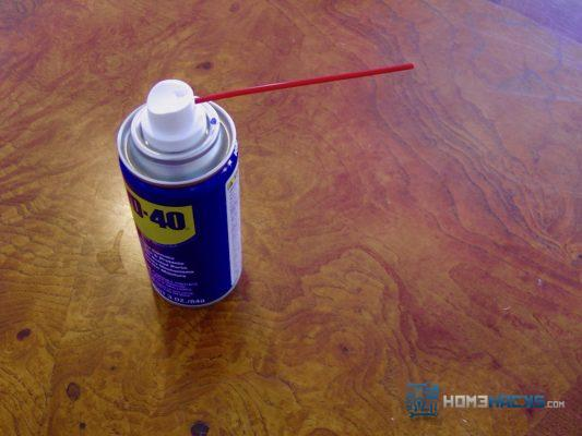 Remove Shoe Marks With WD-40