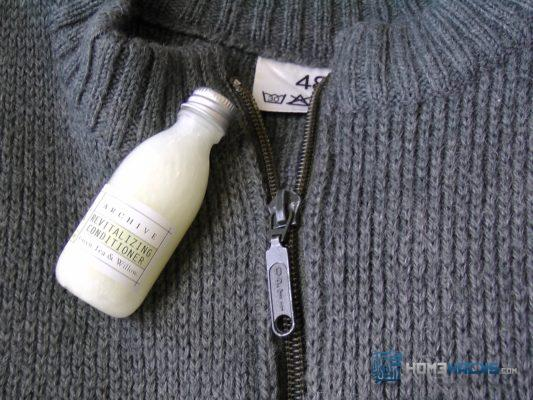 Soften Wool by Adding Conditioner to the Rinse Cycle
