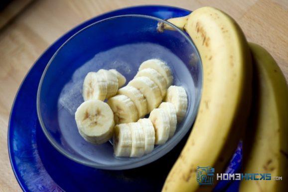 frozen banana snacks