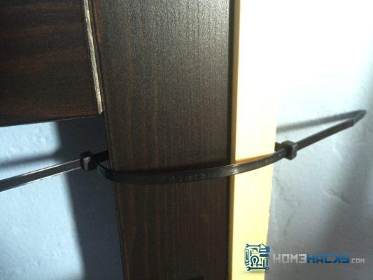 how to extend zip ties
