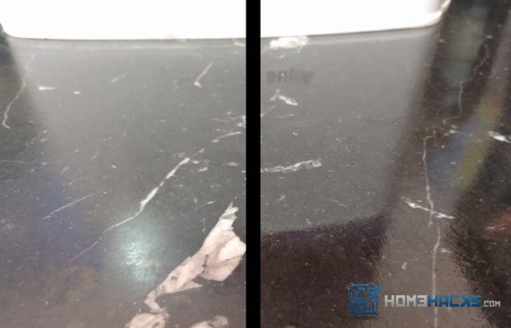 make dull marble countertops look new