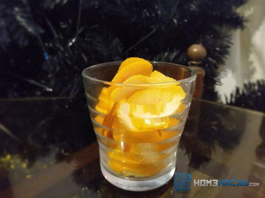 orange scented kindling