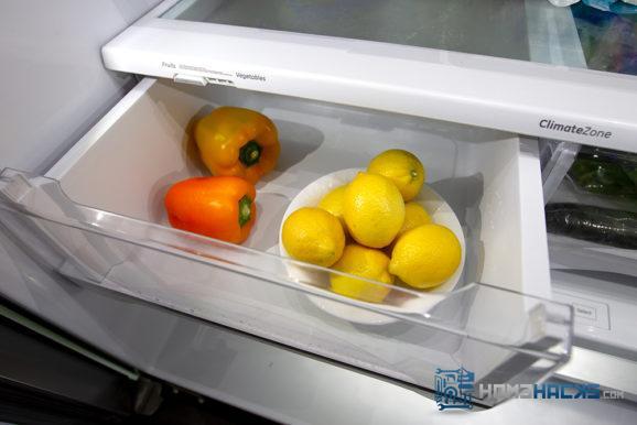 store lemons in fridge